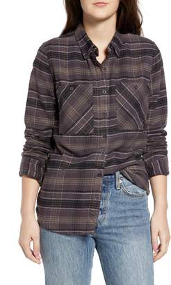 RVCA Roam Plaid Flannel Shirt