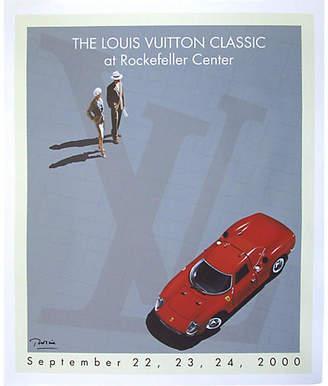 One Kings Lane Vintage Louis Vuitton Classic Car Show Poster - Vintage European Posters Art