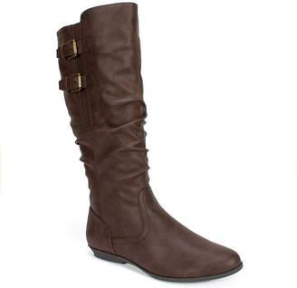 White Mountain Cliffs By Fernanda Tall Boots Women Shoes