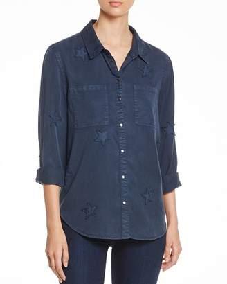 Velvet Heart Baker Star-Appliqué Shirt