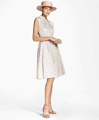 Floral Cotton-Sateen Shirt Dress $198 thestylecure.com