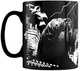 Batman DC Comics Shadows Heat Changing 10Oz Ceramic Mug, Black