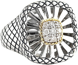 Candela Andrea Diamante 18K & Silver 0.20 Ct. Tw. Diamond Ring
