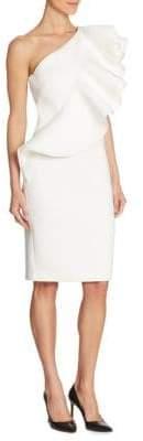 Nero by Jatin Varma One-Shoulder Ruffled Dress