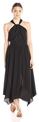 Lark & Ro Women's Halter Neck Midi Dress