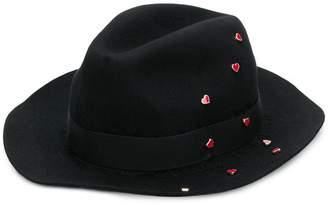 Zadig & Voltaire Zadig&Voltaire heart pin hat