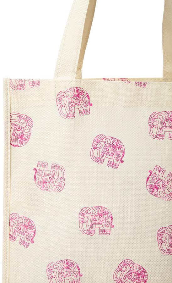 Forever 21 Boho Elephant Shopper Tote
