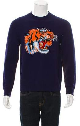 Gucci 2017 Intarsia Tiger Sweater w/ Tags