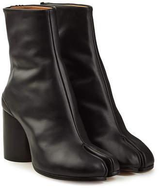 Maison Margiela Leather Split Toe Ankle Boots