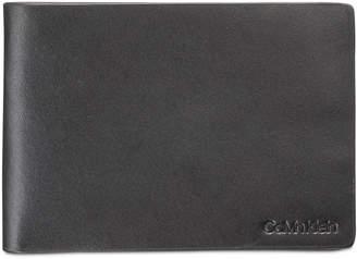 Calvin Klein Men Slimfold Leather Wallet