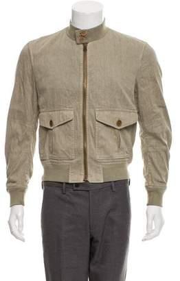 Burberry Deconstructed Linen Jacket