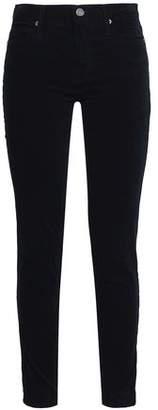 Joie Stretch-Cotton Velvet Skinny Pants