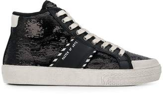Moa Master Of Arts sequin embellished sneakers