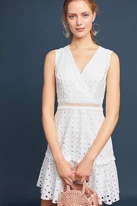 Donna Morgan Eyelet Dress