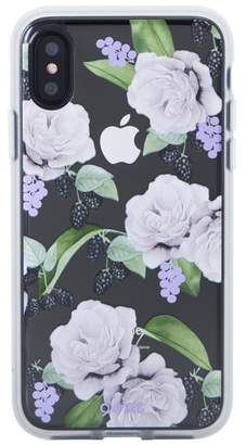 Sonix Floral Berry iPhone X Case