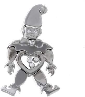 Chopard Happy 18K White Gold & Diamonds Clown Pendant