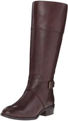 Lauren Ralph Lauren Lauren by Ralph Lauren Women's Maryann Wide Calf Riding Boot