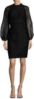 Kay Unger Women's Geometric Cocktail Dress