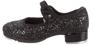 Bloch Girls' Glitter Tap Shoes