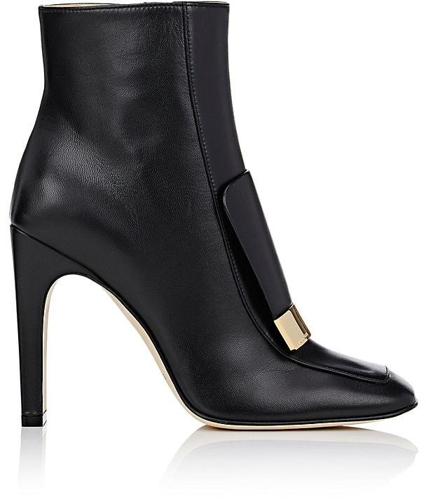 Sergio Rossi Women's Leather Ankle Boots