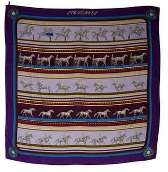 Hermes Sequences Cashmere and Silk Shawl