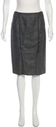 Proenza Schouler Knee-Length Pencil Skirt Grey Knee-Length Pencil Skirt