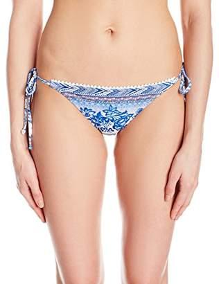 Desigual Women's Neusifu Bikini Bottom, Navy, XL