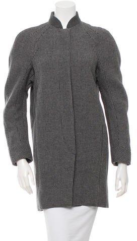 Balenciaga Balenciaga Printed Wool Coat