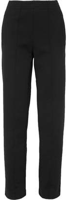 Givenchy Embroidered Ponte Track Pants - Black
