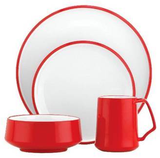Kobenstyle Chili Red 4 Piece Place Setting