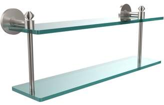 """South Beach Allied Brass Southbeach Collection 22"""" 2-Tiered Glass Shelf (Build to Order)"""