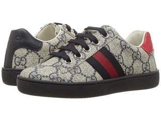 Gucci Kids GG Supreme Low-Top Sneakers (Little Kid)