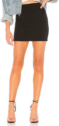 Bobi Athleisure Jersey Mini Skirt