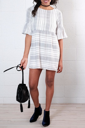 Everly Stripe Shift Dress $63 thestylecure.com
