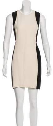 Rag & Bone Colorblock Sleeveless Mini Dress