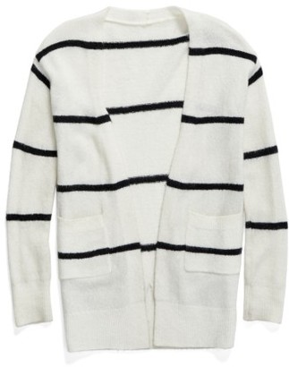 Girl's Tucker + Tate Open Stripe Cardigan $49 thestylecure.com