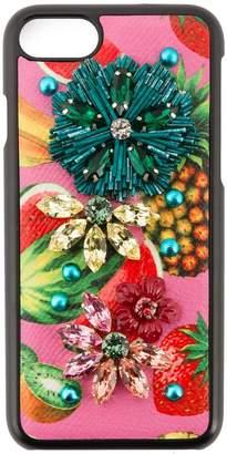 Dolce & Gabbana tropical fruit embellished iPhone 6 case