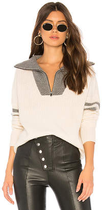 360 Cashmere 360CASHMERE Nichola Half Zip Sweater