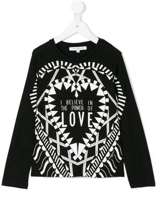 Givenchy Kids slogan sweatshirt