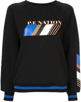 P.E Nation Elite Run sweatshirt