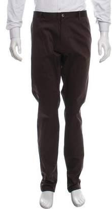 Dolce & Gabbana Flat Front Chino Pants