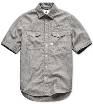 G Star Raw Men's Cpo Short Sleeve Shirt