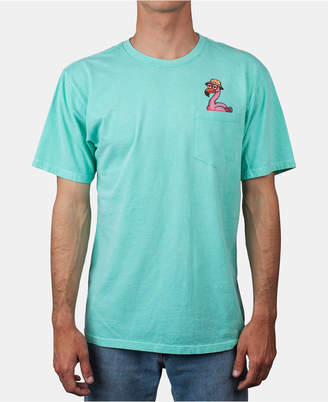 Neff Men Flamingo Pocket Graphic T-Shirt