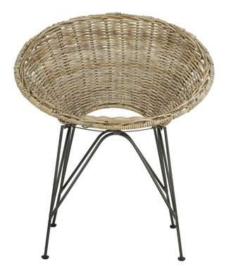 Bungalow Rose Brinker Rattan Papasan Chair