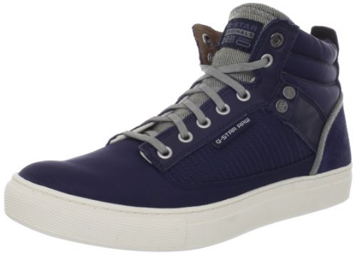 G Star Men's Augur Jedder Hi Top Sneaker