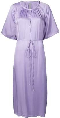 Raquel Allegra flared midi dress