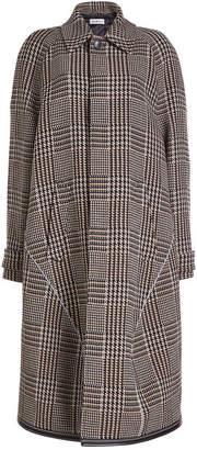 Balenciaga Printed Coat with Virgin Wool