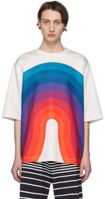 Dries Van Noten Off-White Verner Panton Edition House Welle Wave T-Shirt
