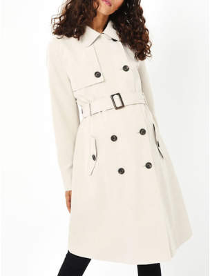 George Maternity Trench Coat