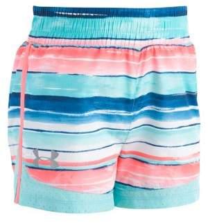 Under Armour Little Girl's Stripe Shorts